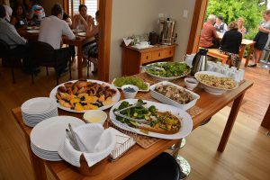Food for the thank you lunch